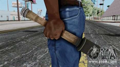 German Grenade from Battlefield 1942 for GTA San Andreas third screenshot