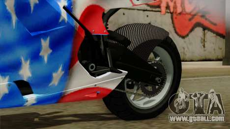Bati America Motorcycle for GTA San Andreas right view