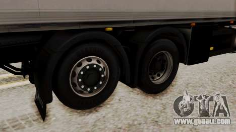 Iveco Truck from ETS 2 for GTA San Andreas back left view