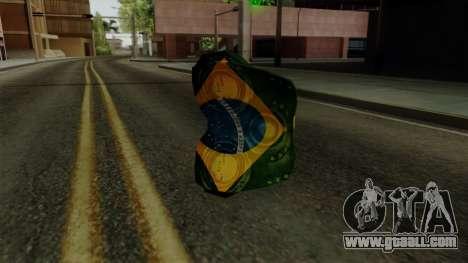 Brasileiro Thermal Goggles v2 for GTA San Andreas second screenshot