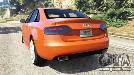 GTA 5 Audi S4 rear left side view