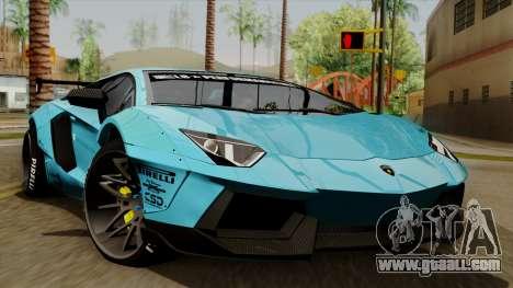 Lamborghini Aventador LB Performance for GTA San Andreas