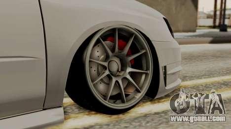 Subaru Impreza WRX STI HQ for GTA San Andreas back left view