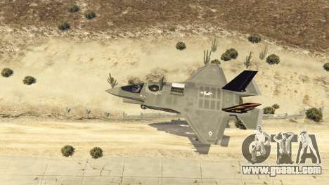 GTA 5 F-35B Lightning II (VTOL) eighth screenshot