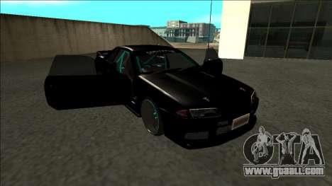 Nissan Skyline R32 Drift Monster Energy for GTA San Andreas side view