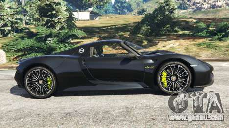 GTA 5 Porsche 918 Spyder 2014 [HD] left side view