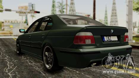 BMW 530D E39 1999 Mtech for GTA San Andreas left view
