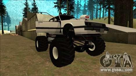Willard Monster for GTA San Andreas engine