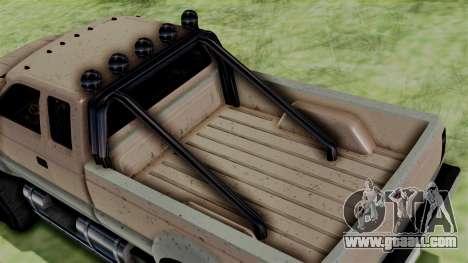GTA 5 Vapid Sandking for GTA San Andreas back left view