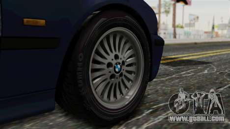 BMW 530D E39 1999 Stock for GTA San Andreas back left view