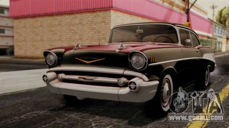 Chevrolet Bel Air Sport Coupe (2454) 1957 IVF for GTA San Andreas