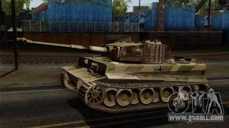 Panzerkampfwagen VI Ausf. E Tiger No Interior for GTA San Andreas