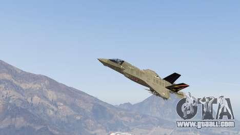 GTA 5 F-35B Lightning II (VTOL)