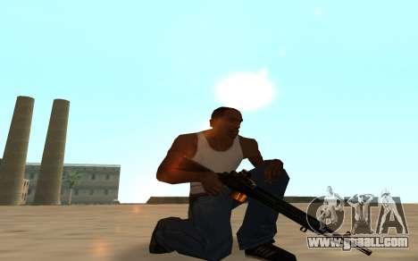 Nitro Weapon Pack for GTA San Andreas seventh screenshot