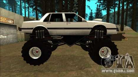 Willard Monster for GTA San Andreas left view