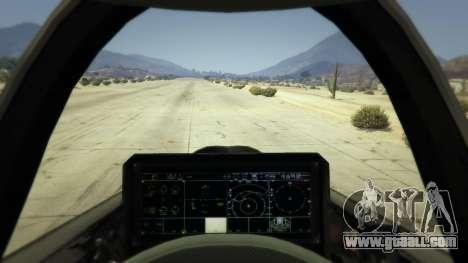 GTA 5 F-35B Lightning II (VTOL) second screenshot