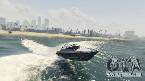 GTA 5 Improved boat Suntrap fourth screenshot