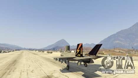 GTA 5 F-35B Lightning II (VTOL) sixth screenshot