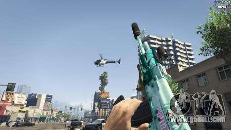GTA 5 Assault rifle Anime fifth screenshot
