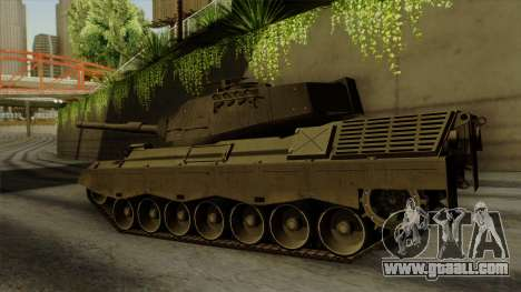 Leopard 1A5 for GTA San Andreas left view