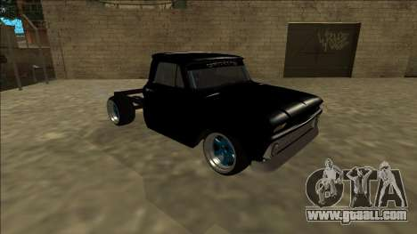 Chevrolet C10 Drift Monster Energy for GTA San Andreas left view