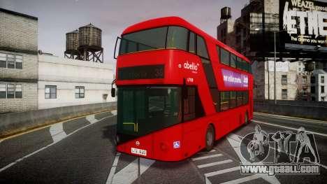Wrightbus New Routemaster Abellio London for GTA 4