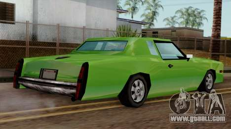 Esperanto from Vice City Stories for GTA San Andreas left view