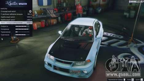 Mitsubishi Lancer Evo VI GSR v1.0 for GTA 5