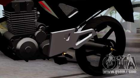 Honda Twister 2014 for GTA San Andreas right view