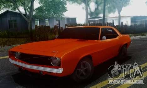 Chevy Camaro 69 for GTA San Andreas