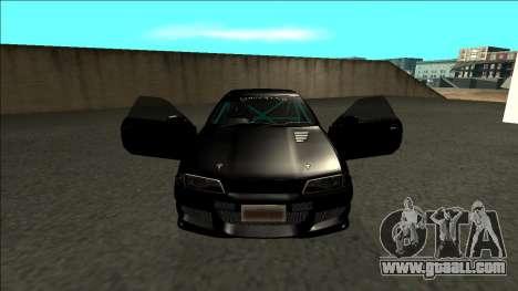 Nissan Skyline R32 Drift Monster Energy for GTA San Andreas inner view