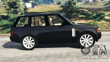 GTA 5 Range Rover Supercharged left side view