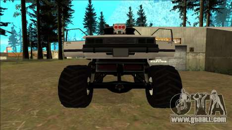 Willard Monster for GTA San Andreas interior