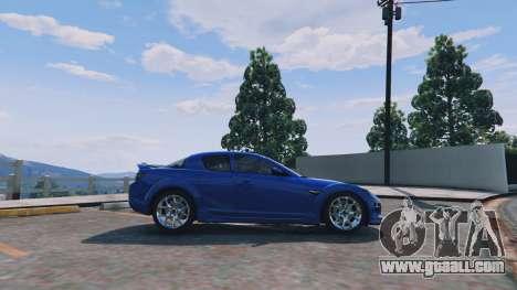 GTA 5 Mazda RX-8 R3 v0.1 left side view