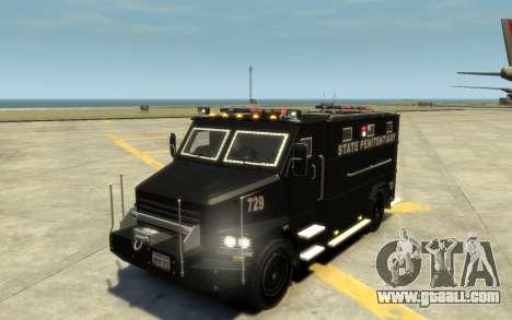 International 4000-Series SWAT Van for GTA 4 upper view