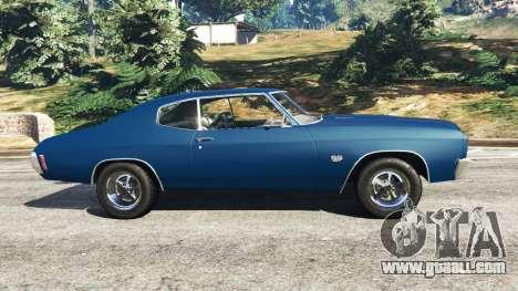 GTA 5 Chevrolet Chevelle SS 1970 v0.1 [Beta] left side view