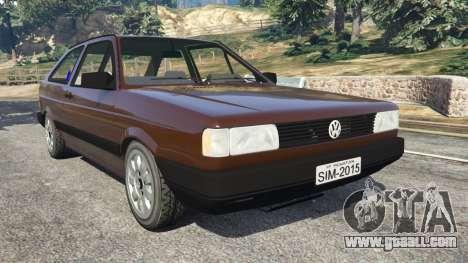 Volkswagen Gol GL 1.8 for GTA 5