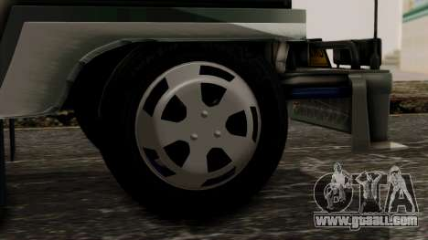 Milwaukee Motors Custom Jeepney for GTA San Andreas back left view