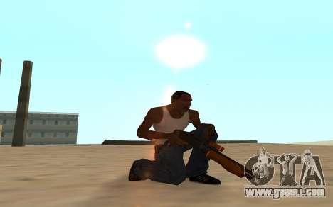 Nitro Weapon Pack for GTA San Andreas eighth screenshot