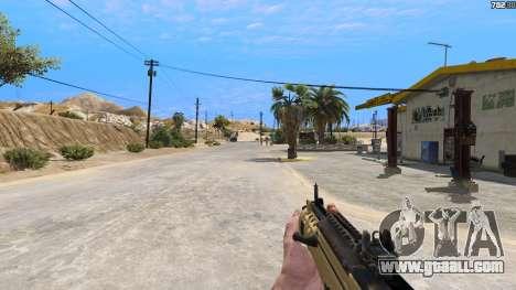 GTA 5 TAR-21 из Battlefield 4 fifth screenshot