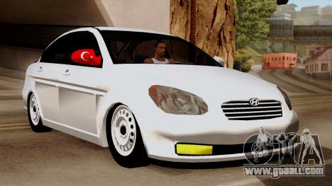 Hyundai Accent for GTA San Andreas