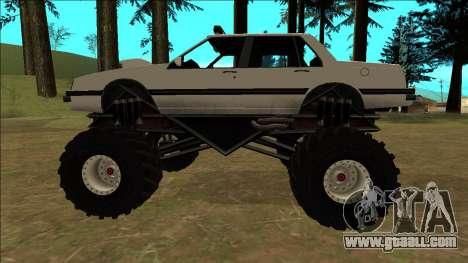 Willard Monster for GTA San Andreas inner view