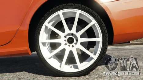 GTA 5 Audi S4 rear right side view