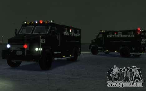 International 4000-Series SWAT Van for GTA 4 left view