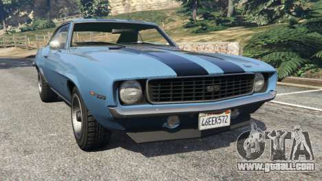 Chevrolet Camaro SS 350 1969 for GTA 5