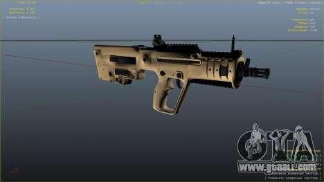 GTA 5 TAR-21 из Battlefield 4 seventh screenshot