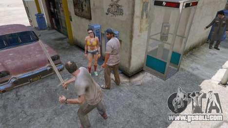 GTA 5 Sword Excalibur fourth screenshot