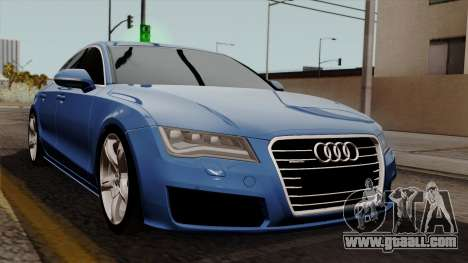Audi A7 Sportback 2009 for GTA San Andreas