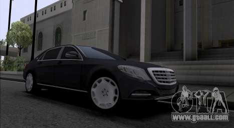 Maybach S400 for GTA San Andreas left view