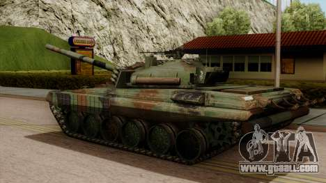PT-91A Twardy for GTA San Andreas left view